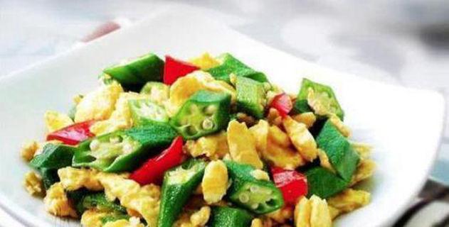 美食:干锅菜花,秋葵炒鸡蛋,香辣炒包菜,剁椒炒鸡胗的做法