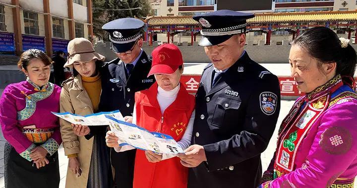 肃南红湾寺镇裕兴社区开展反邪教主题宣传