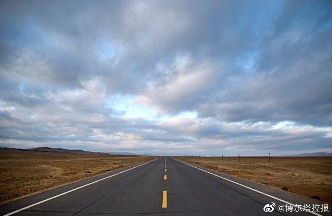 S304线博乐市—温泉县公路升级改造项目正式开工建设