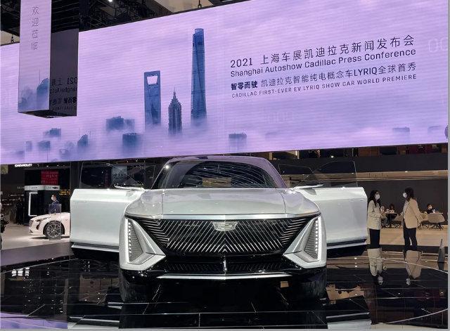 上海车展这几款概念车,比车模好看