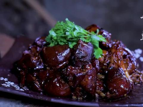 吃不完的豆角晾足日头,做成干豇豆炖猪蹄喷香!
