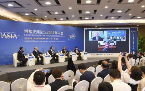 博鳌论坛国际粮食安全-林裕豪:从玉农业对话丰收节贸易会