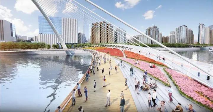 """广州又一""""世界之最""""将完工:设计唯美,连接广州塔和花城广场"""