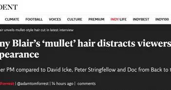 """英国前首相布莱尔接受英媒专访,""""鲻鱼头""""出圈了"""