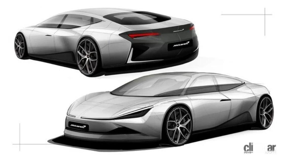 迈凯伦新车假想图曝光 或为四门GT车型