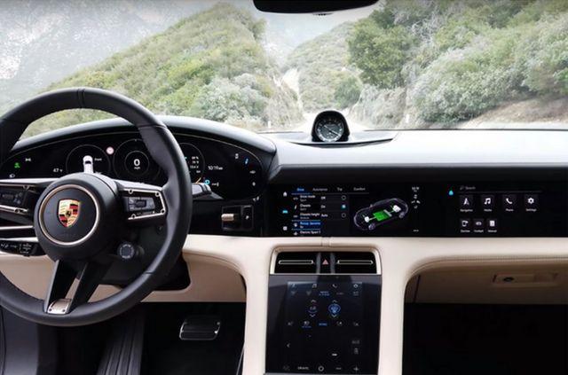 保时捷Taycan旅行版实车现身,续航可达456公里,上街回头率十足