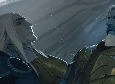 魔兽世界:9.1新剧情曝光,玩家化身乌瑟尔,巫妖王阿尔萨斯回归