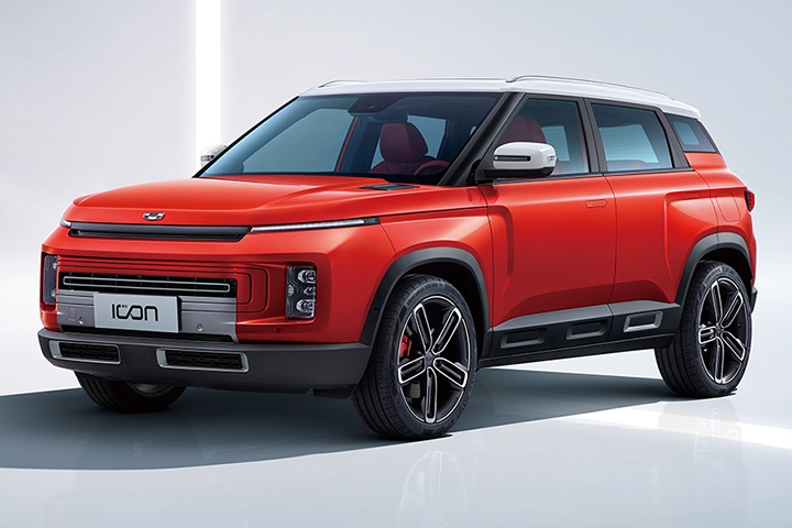 吉利ICON特别版车型上市,售13.2021万元