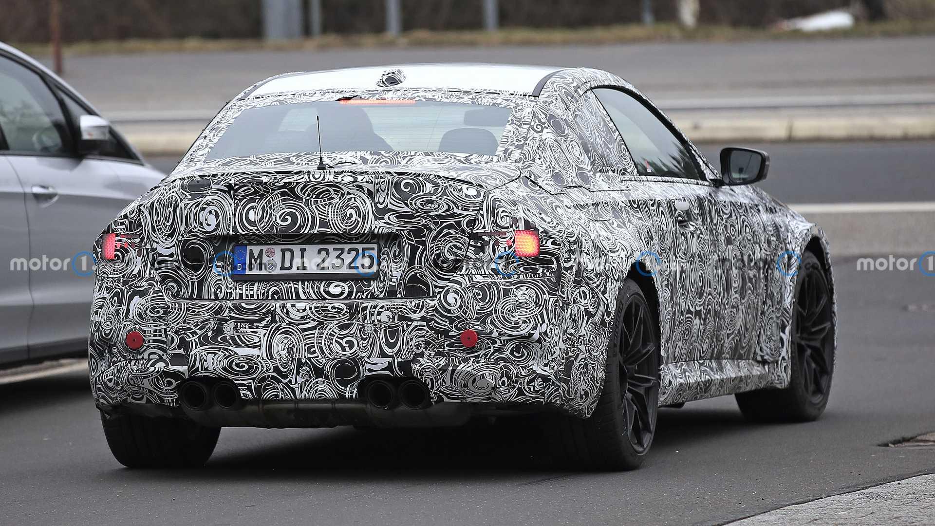 全新M2 Coupe即将量产,2022上市