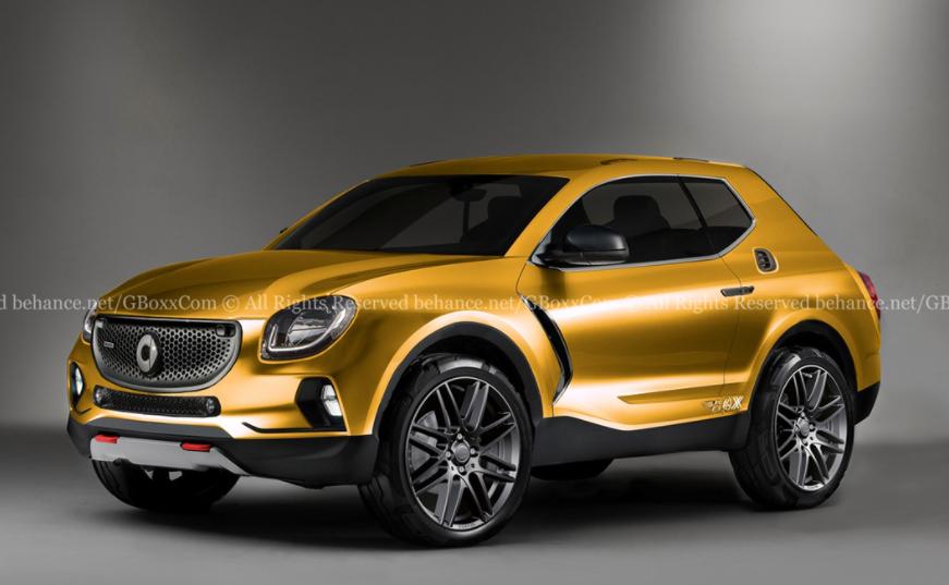 极氪001同平台,奔驰设计、吉利技术,你看好smart首款SUV吗?