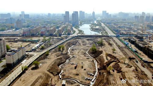 博乐市青河西延建设项目顺利推进