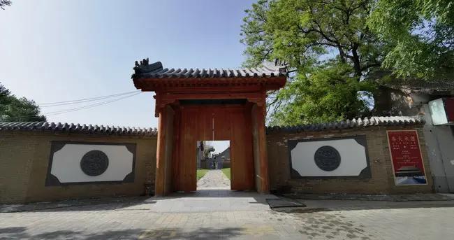 彰德府城隍庙北门五一期间向游客开放