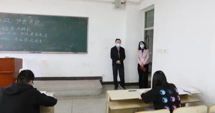 武汉交通职业学院高职单招考试进行时(多图)