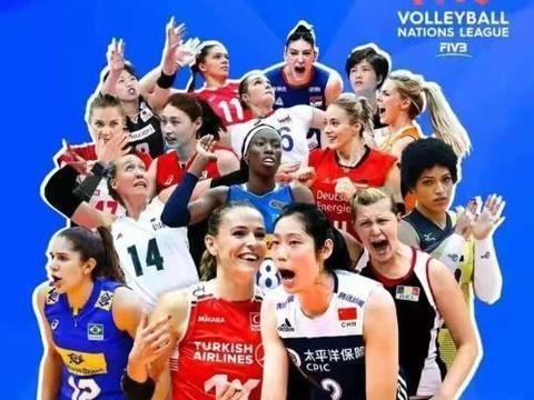 朱婷占据世联赛海报C位,不愧是国际排联亲闺女,中国女排赛程优