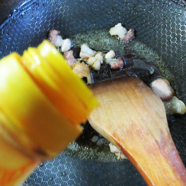 肉片牛心菜炒铁棍山药粉条,入味下饭,简单家常菜