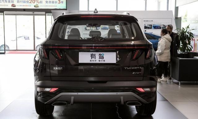 新一代途胜L正式上市,外观设计犀利大胆,轴距达到了2755mm