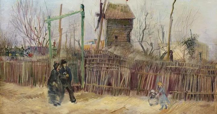 一幅梵高的画作,自1887年以来从未展出过
