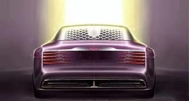 量产后必买?红旗L概念车设计图发布,重启向日葵标志