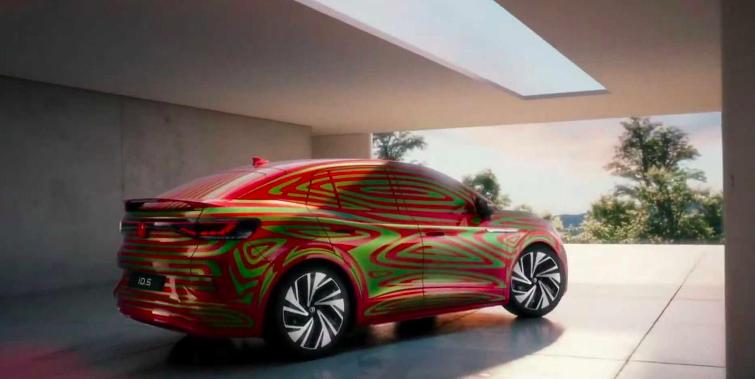 大众ID系列又一新车曝光,定位跨界轿跑SUV,今年四季度全球首发