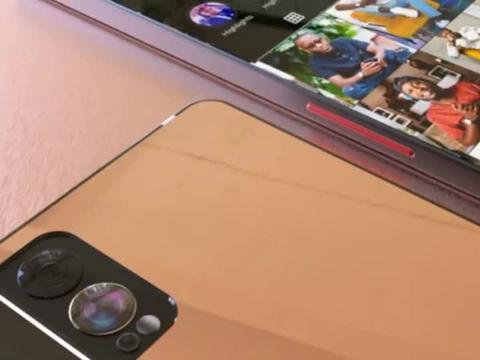 黑莓 Z3 5G 概念机:外形像 iPhone,独特投影功能