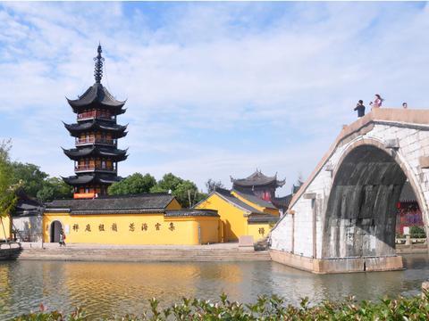 """江苏一免费古镇,景色不逊周庄乌镇,被称为""""江南水乡明珠"""""""