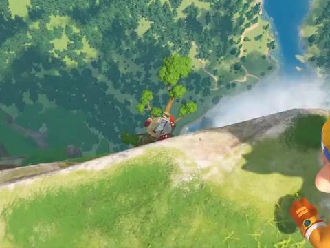 露营车被困悬崖歪脖树,流星呼叫支援!