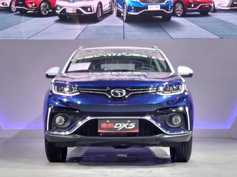 造型灵动 采用双色车漆 2021款东南DX5正式亮相