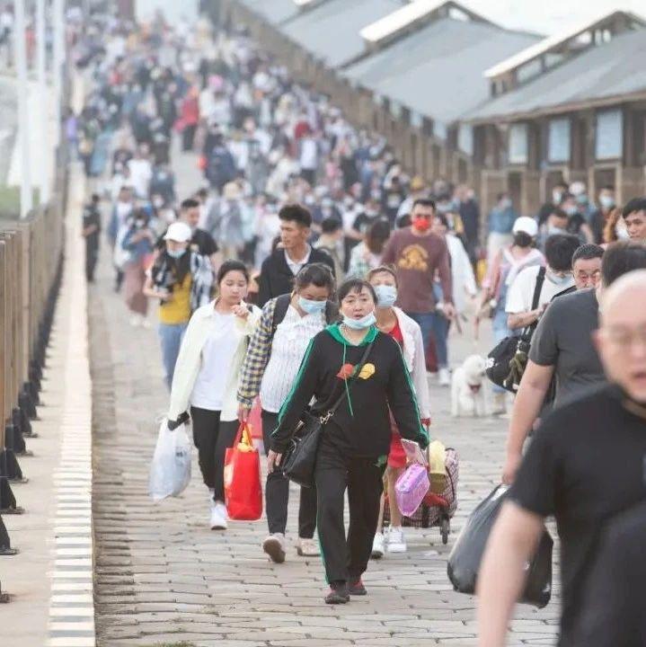 """北海涠洲岛已""""满客"""",没预订船票的游客请注意"""