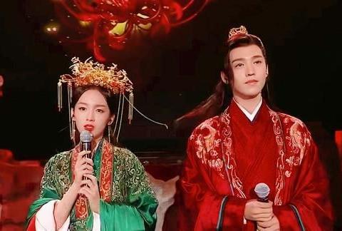 山河令演唱会湘宁完婚,张哲瀚让龚俊送红绳,周也哭了