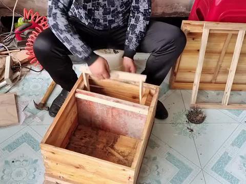 意标箱改成国宝兼容箱,养蜂人手把手为你来演示,一看你就会