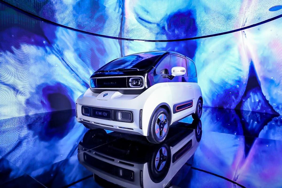 新能源新玩家,黄金拍照位+分体式车身,特别版、概念版同时发布