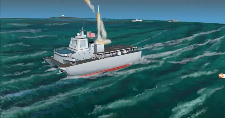 日本新宙斯盾舰与众不同 或采用多船体 可装更大的雷达更多的导弹