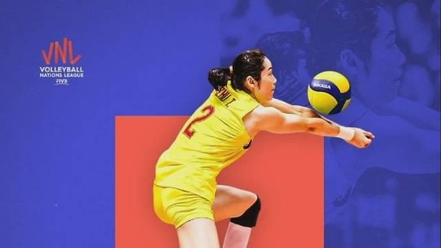 2019年世界女排联赛VNL中国🇨🇳 女排队长朱婷集锦……