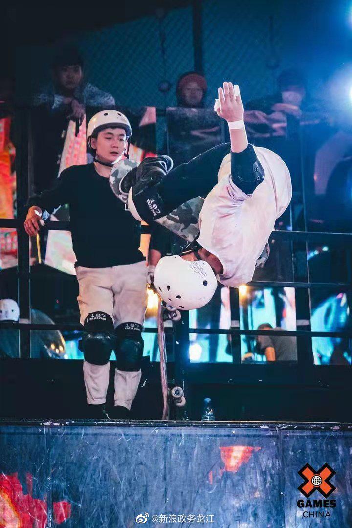 黑龙江滑板队出征X GAMES(西安站)获前两名