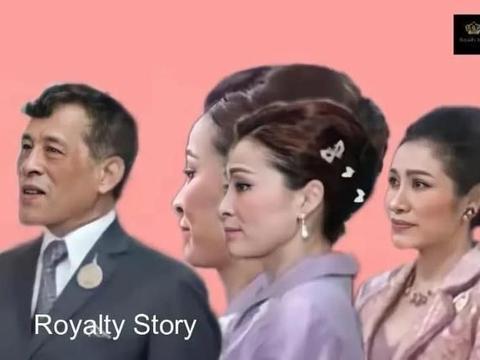 泰王晒出全家福,苏提达占据C位,诗妮娜的表情最吸睛