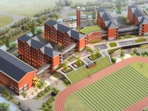 江苏百年名校建分校,可容纳1080名学生,区域房子总价200万起