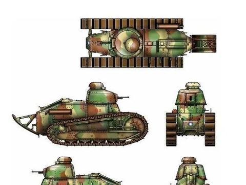 没什么存在感的法国主战坦克