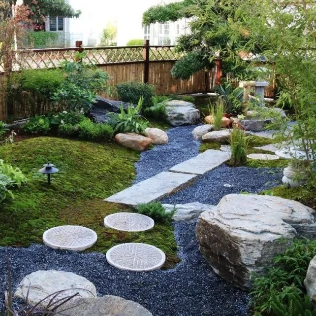 """30㎡小院子,可以装成简而精致的""""日式花园"""",简单又好看"""