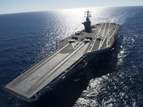 美国同时建造2艘10万吨级核航母,实力真有那么雄厚?