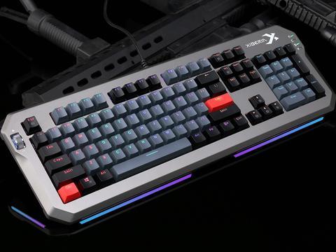 霸气侧漏,玩转非主流,西伯利亚XS5000键盘赏析