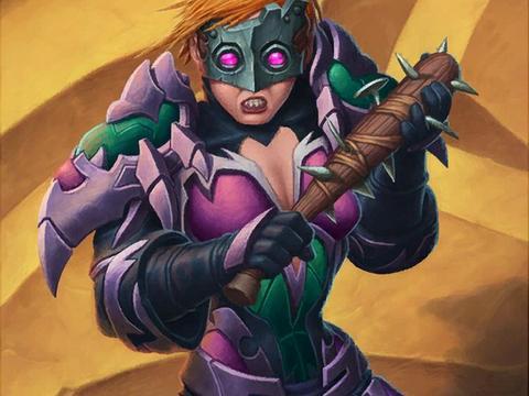 炉石传说:圣骑士克星终于找到!奥秘贼一个闷一个准!