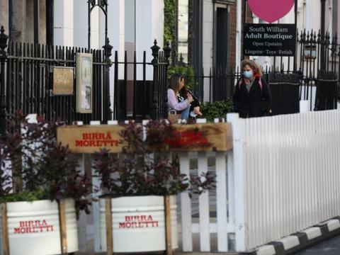 都柏林市议会开始在酒店业重开前修建步行街以方便户外用餐