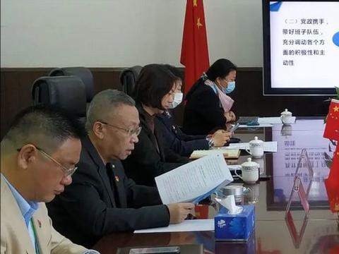 人民政府教育督导室对北京工业大学附属中学进行综合督导