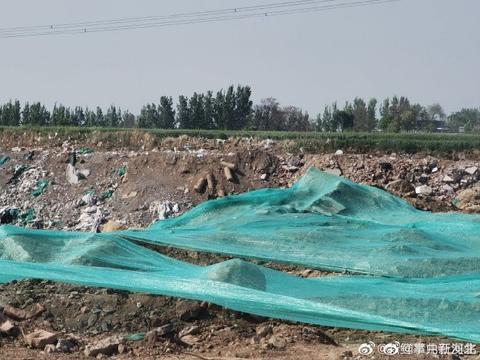 邢台市南和区贾宋镇嘉年华往东邢清路北一片农田缘何成了垃圾场?