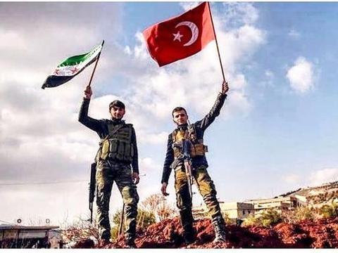 土耳其侵占叙利亚领土,实行民统治目的路人皆知