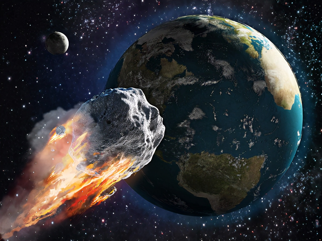 10月14日,毁灭地球小行星将撞击欧洲,NASA表示:毫无办法