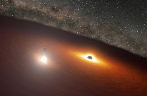 科学家发现怪异现象,黑洞在发出周期性信号
