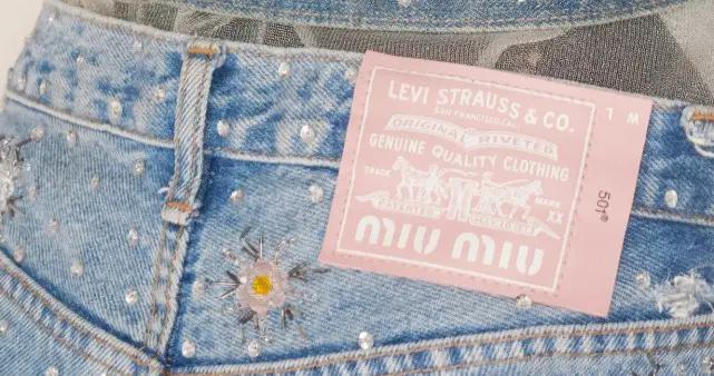 粉红皮标Levi's 的秘密?水晶、珍珠… 闪闪惹人爱的时髦系列
