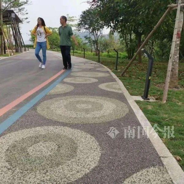 柳州首条夜光跑道来了!这个滨江生态公园还不止这些...