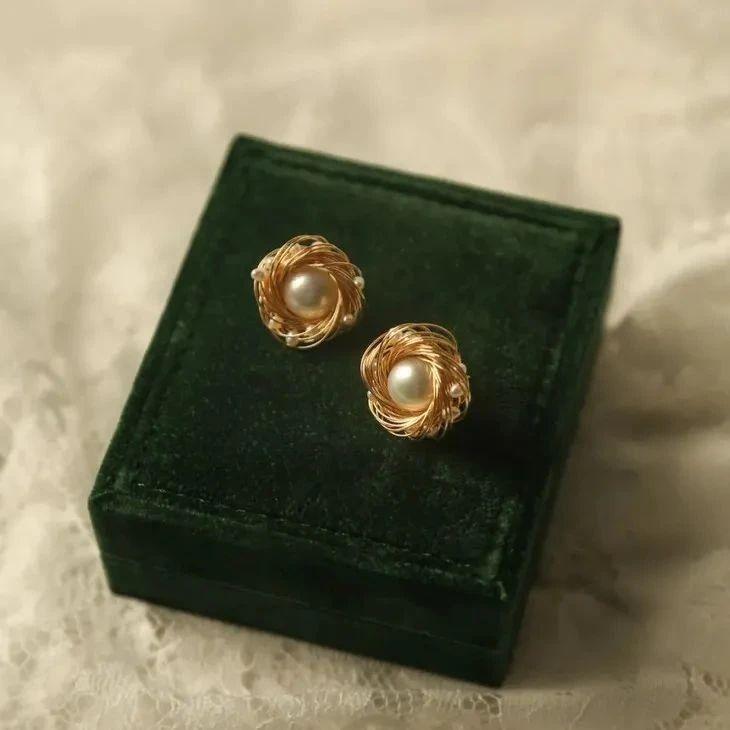 8款小众珍珠首饰,几十块可入手,初春百搭好高级